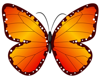 Vector Butterfly - Free vector #340221