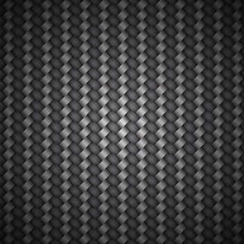Carbon Fiber Background - Free vector #340261