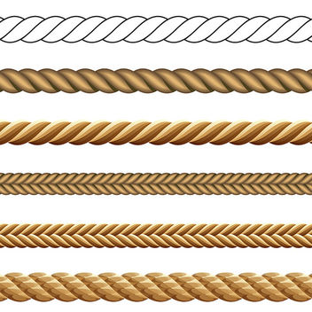 Vector Rope Set - Free vector #340831