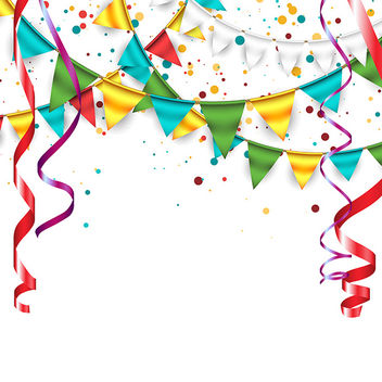 Celebration Background - vector gratuit #340881