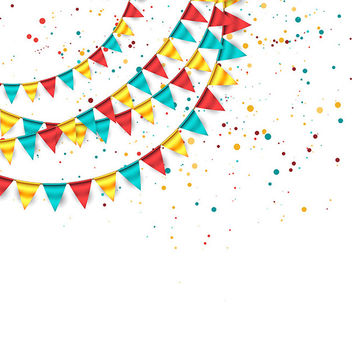 Vector Festive Background - vector gratuit #340921