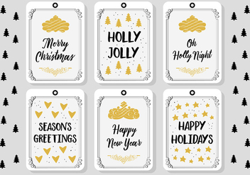 Free Christmas Background Greeting Card - Kostenloses vector #341641