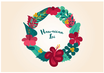 Vector Hawaiian Lei - vector gratuit #341801