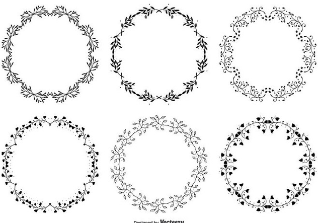 Decorative Frames Set - Free vector #341931