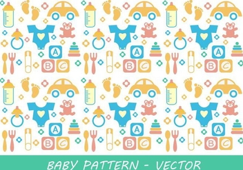 Baby Pattern Vector - Free vector #342251