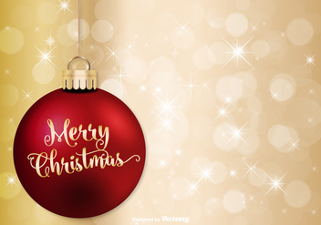 Merry Christmas Illustration - Free vector #342261