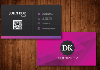 Creative Business Card - vector #342321 gratis