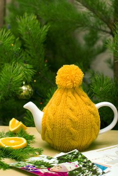 New Year's composition for holidays with photos and lemon - image #342571 gratis