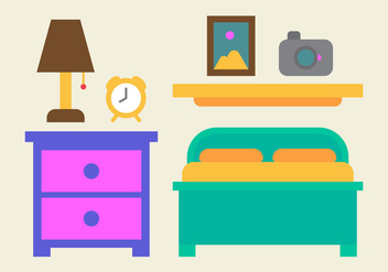 Free Kids Room Vector Icons #18 - Free vector #342681