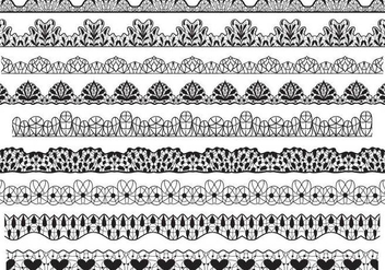 Free Lace Vectors - Free vector #342691