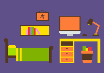 Free Kids Room Vector Icons #16 - Kostenloses vector #342741
