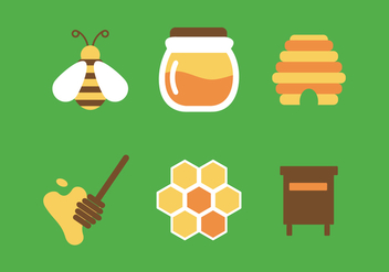 Vector Honey - vector gratuit #342761