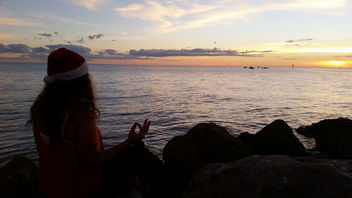 Christmas Sunset Meditation - image #342811 gratis