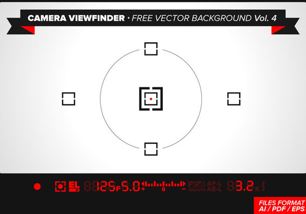 Camera Viewfinder Free Vector Background Vol. 4 - Free vector #342931