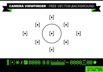 Camera Viewfinder Free Vector Background - vector gratuit #342951