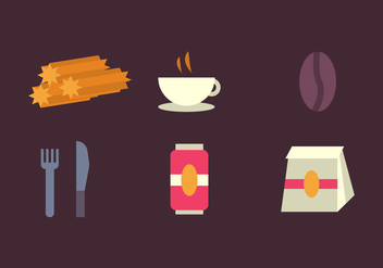 Free Churros Vector Icons #3 - бесплатный vector #343241