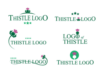 Thistle Logo Vector - бесплатный vector #343711