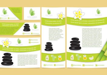 Spa Brand Templates - vector #343731 gratis