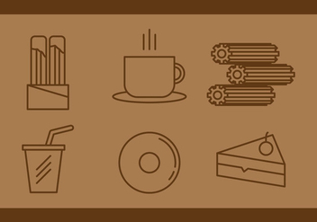 Free Churros Vector Icons #1 - бесплатный vector #343791