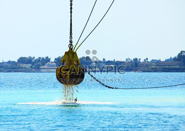 Dredging in the sea - Free image #343991