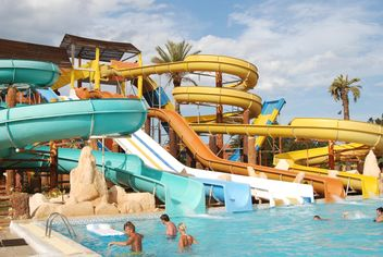 a water park in the Tunisian hotel - Free image #344171