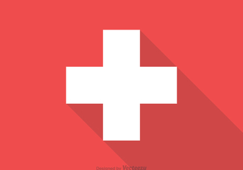 Free Swiss Flag Vector - Free vector #344471