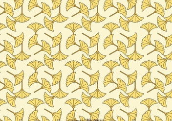 Free Ginko Vector Pattern - Kostenloses vector #344641