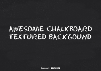 Black Chalkboard Texture Background - vector gratuit #344711