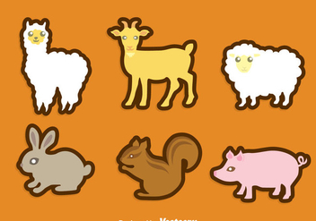 Aminal Icons Set - Free vector #344861