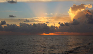 Rays of Sunset - image gratuit #345231
