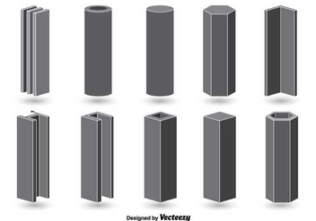 Vector Steel beam - vector gratuit #345481