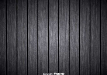 Gray wooden background - vector gratuit #345551