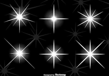 Bright star lights - vector gratuit #345561