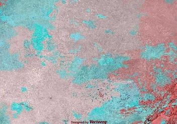 Grunge textured paint - vector gratuit #345651