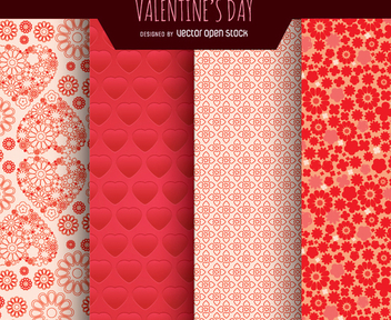Valentine's Day Background - vector gratuit #345801
