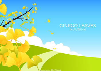 Free Ginkgo Bilboa Vector Illustration - vector #345941 gratis