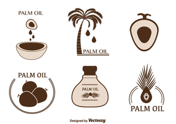 Free Palm Oil Vector - vector gratuit #346431