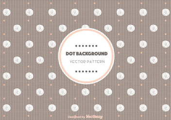 Chocolate Dot Pattern Vector - Free vector #346851