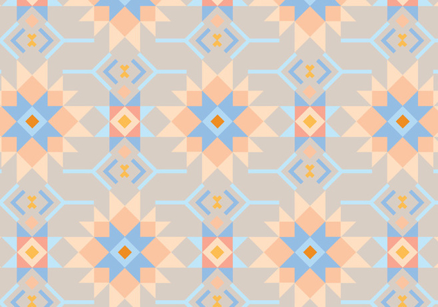 Peach and Blue Abstract Background - Kostenloses vector #347041