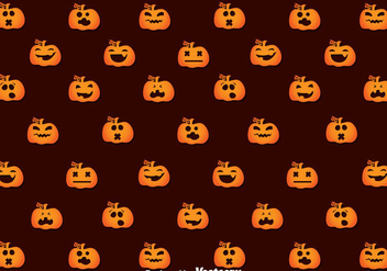 Pumpkins Seamless Pattern - vector gratuit #347351
