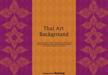 Free Thai Pattern Vector Art - бесплатный vector #347441