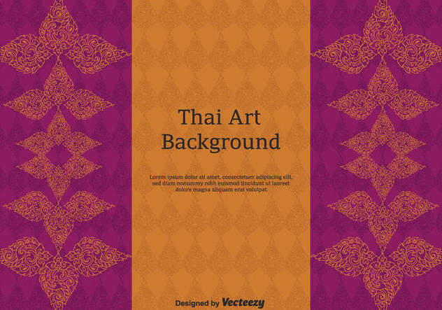 Free Thai Pattern Vector Art - Free vector #347441