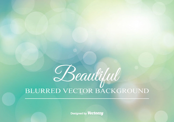 Beautiful Blurred Background Illustration - бесплатный vector #347611