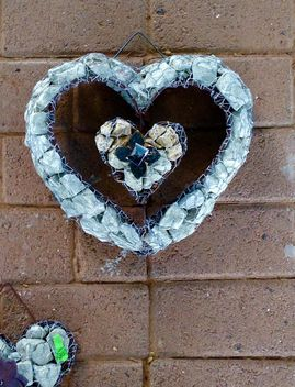Stone heart on Valentine's Day - бесплатный image #347761