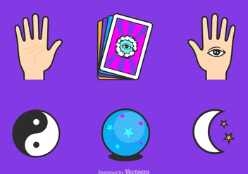 Free Fortune Teller Vector Icons - Free vector #348121