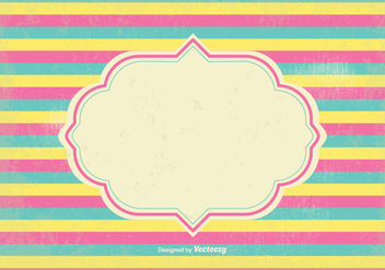 Old Stripes Background Illustration - vector #348261 gratis