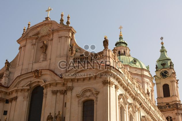 St. Nicholas church on old town square, Prague - бесплатный image #348401