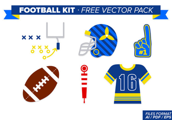 Football Kit Free Vector Pack - Kostenloses vector #348831