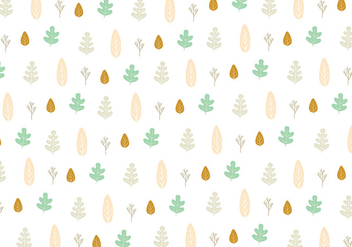 Leaf icon pattern background - Free vector #349121