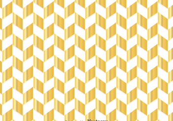 Gold Chevron Pattern - vector gratuit #349181